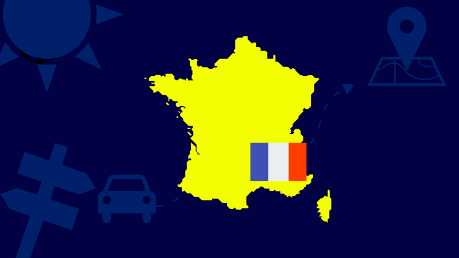 Frankrijk naar code geel!
